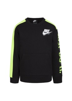 Nike Toddler Boys Tag Crew Neck Pullover