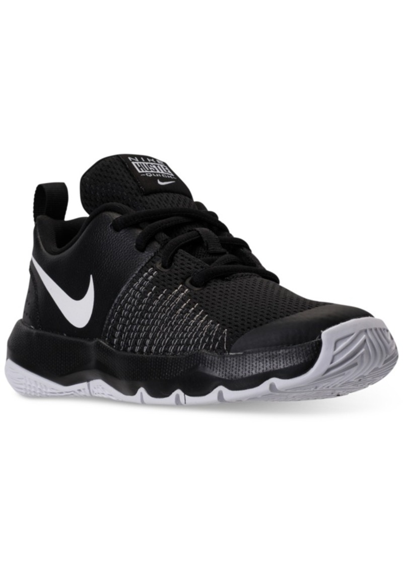 3b04c29519bfe Little Boys' Team Hustle Quick Basketball Sneakers from Finish Line. Nike