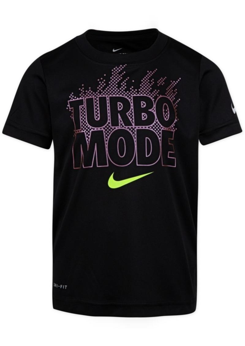 Nike Little Boys Turbo Mode-Print Cotton T-Shirt