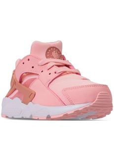 51768ebfb Nike Little Girls  Air Huarache Run Se Running Sneakers from Finish Line