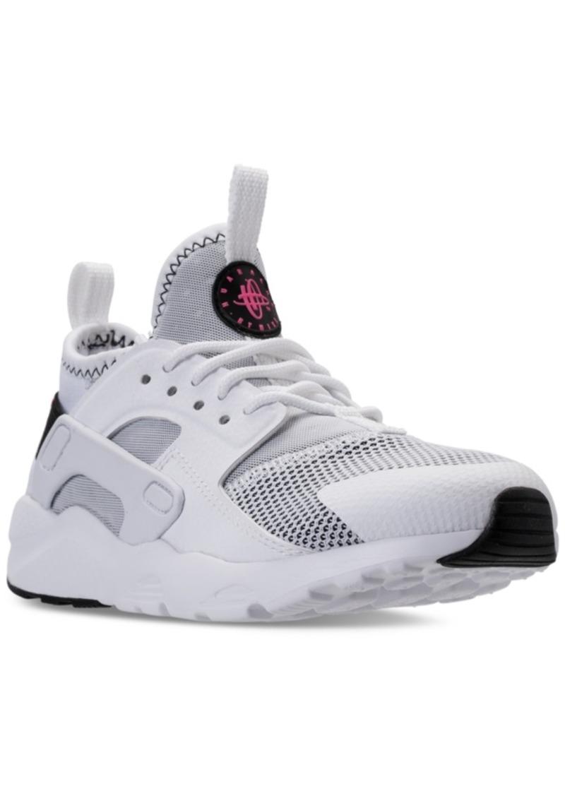 853df57d187 Little Girls  Air Huarache Run Ultra Running Sneakers from Finish Line. Nike