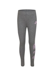Nike Little Girls Air Logo Print Leggings