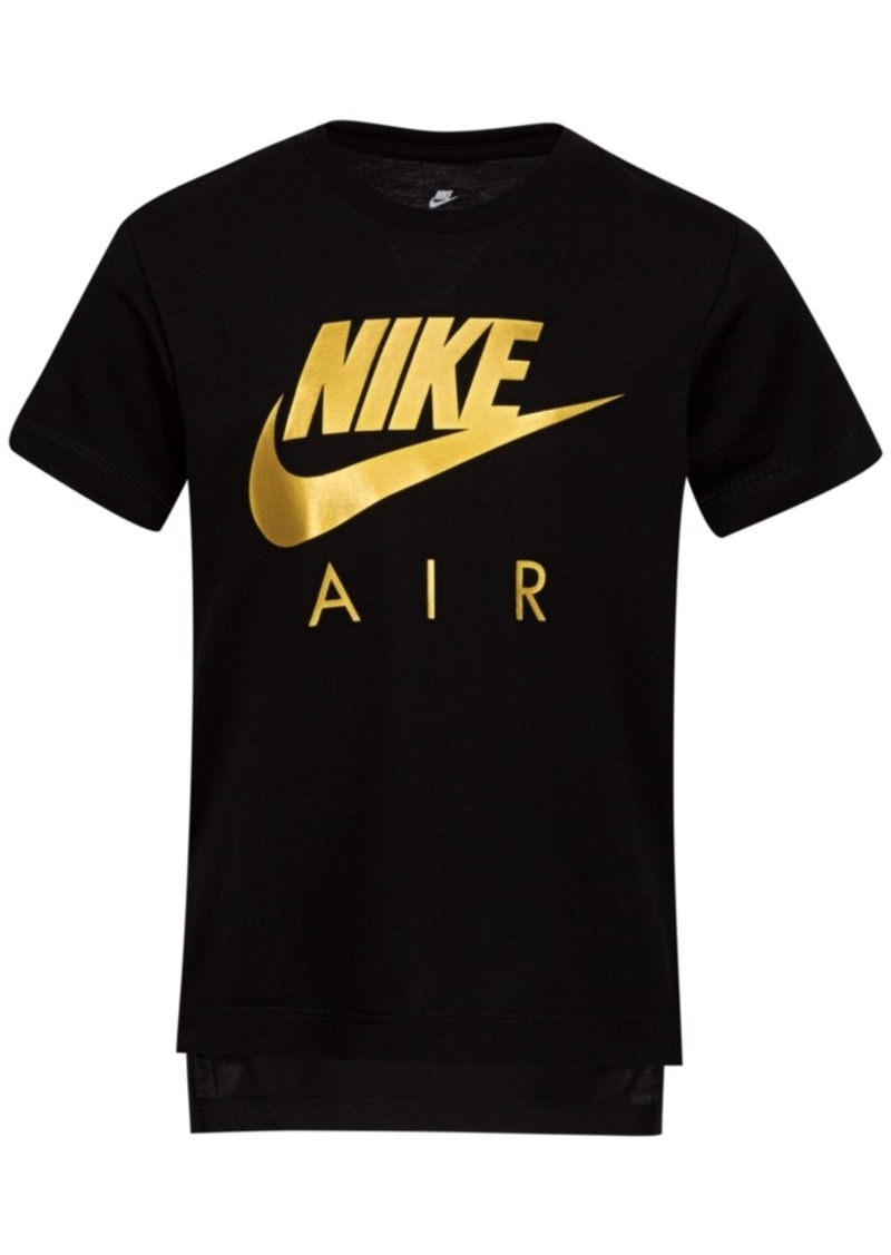 Nike Little Girls Air Logo T-Shirt