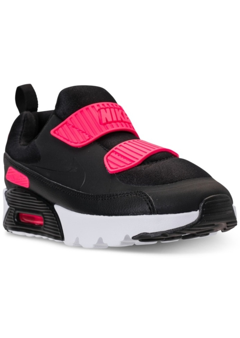 the best attitude db579 ed410 Little Girls  Air Max Tiny 90 Running Sneakers from Finish Line. Nike