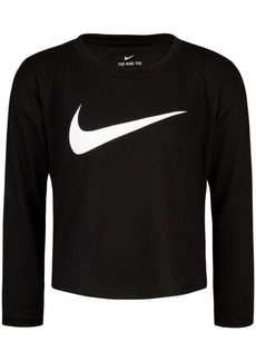 Nike Toddler Girls Swoosh-Print T-Shirt