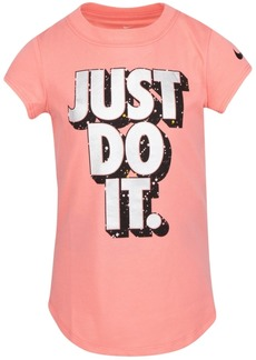 Nike Little Girls Cotton Just Do It T-Shirt