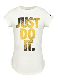 Nike Toddler Girls Cotton Just Do It T-Shirt