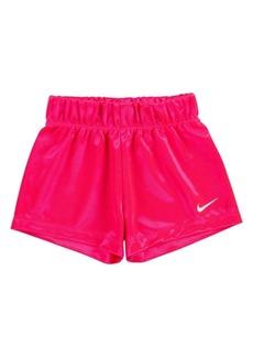 Nike Little Girls Shiny Shorts