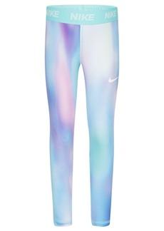 Nike Little Girls Dri-fit Printed Leggings