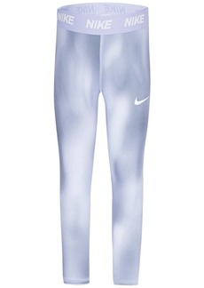 Nike Little Girls Dri-fit Printed Leggings
