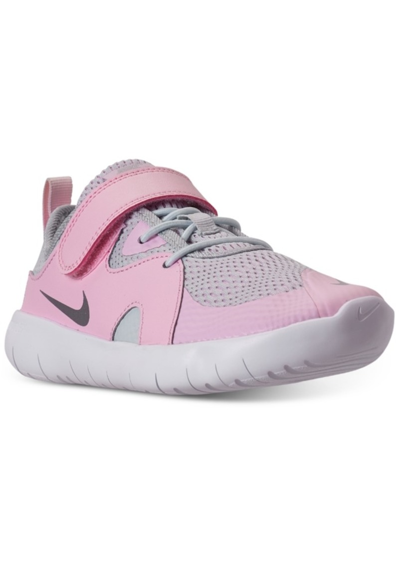 Nike Little Girls Flex Contact 3 Stay-Put Closure Casual Athletic Sneakers from Finish Line