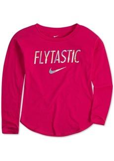 Nike Little Girls Flytastic-Print Cotton T-Shirt