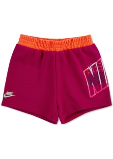 Nike Little Girls French Terry Shorts