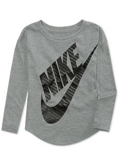 Nike Little Girls Futura-Graphic T-Shirt