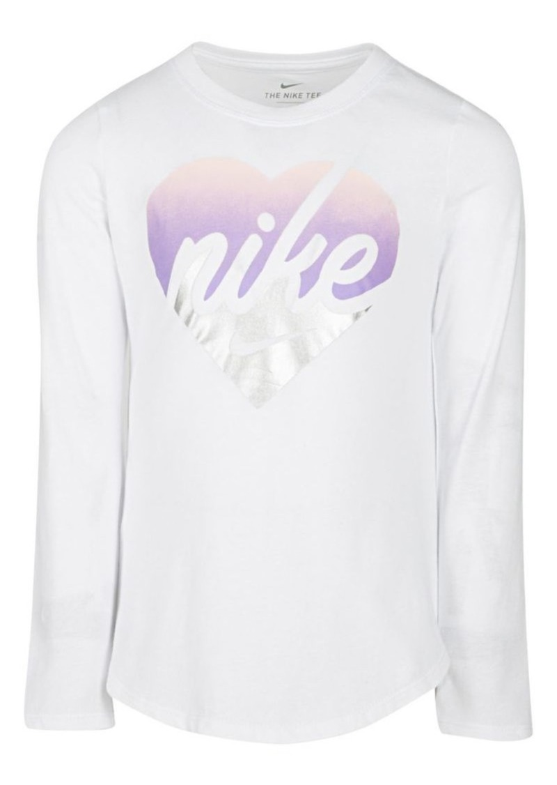 Nike Little Girl's Graphic Cotton Tee