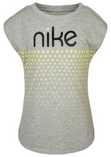Nike Toddler Girls Dot & Logo Graphic T-Shirt