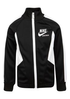Nike Little Girls Heritage Colorblocked Track Jacket