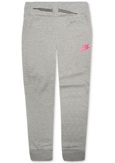 Nike Little Girls Logo Jogger Pants