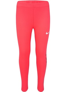 Nike Little Girls Metallic Just Do It Leggings