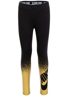 Nike Little Girls Metallic-Print Leggings