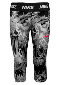 Nike Little Girl's Printed Capri Leggings