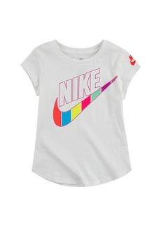 Nike Little Girls Retro Stripe Tee
