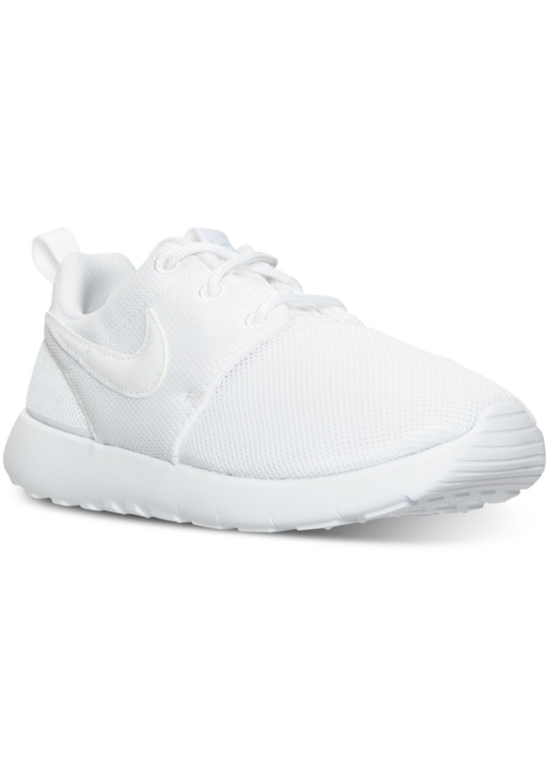 size 40 f7c12 9b69f Little Girls' Roshe One Casual Sneakers from Finish Line
