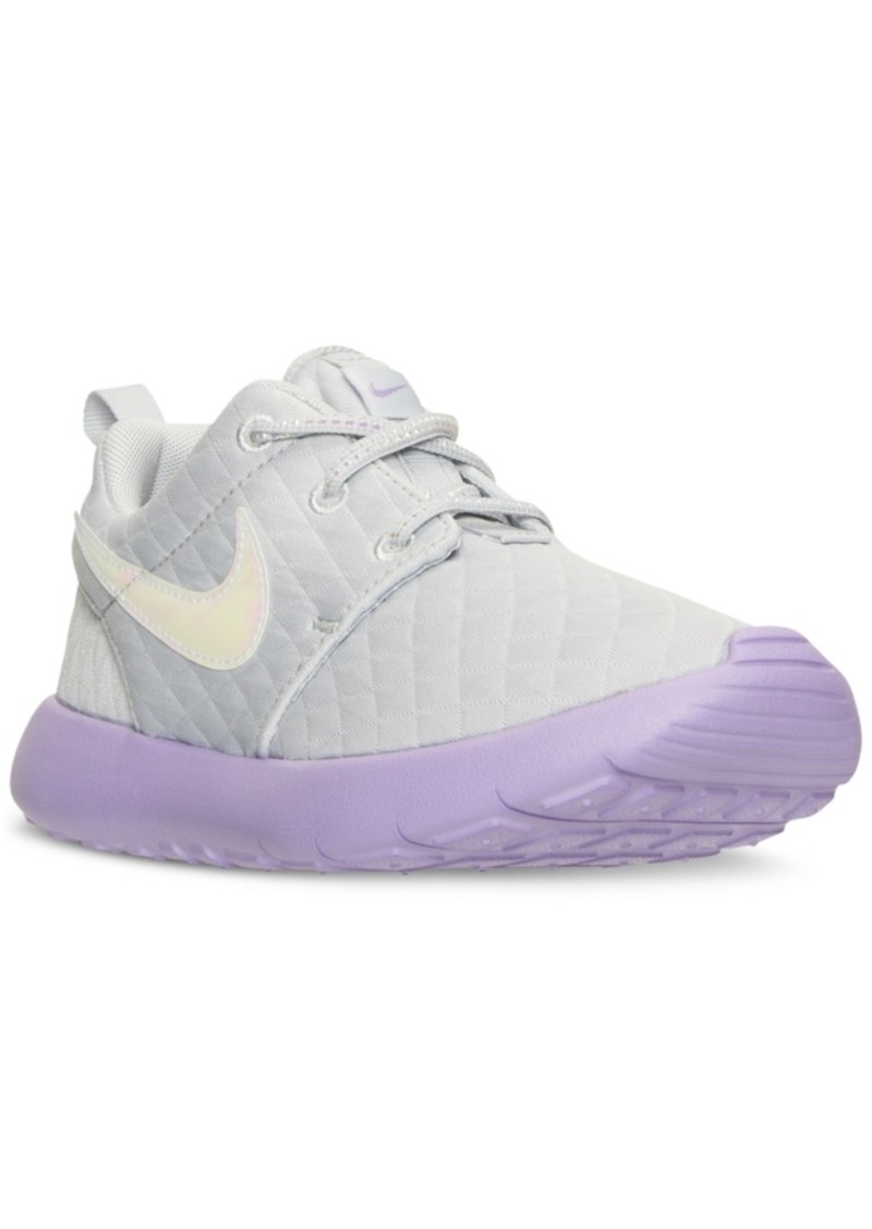 info for a53ab 29c52 Little Girls' Roshe One Se Casual Sneakers from Finish Line