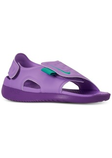 Nike Little Girls' Sunray Adjust 5 Sandals from Finish Line