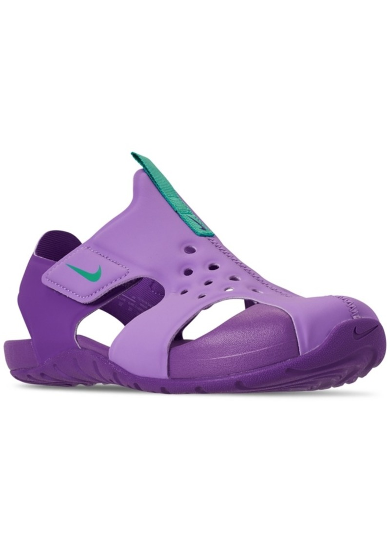 4224ad6e0 Nike Nike Little Girls' Sunray Protect 2 Sandals from Finish Line ...