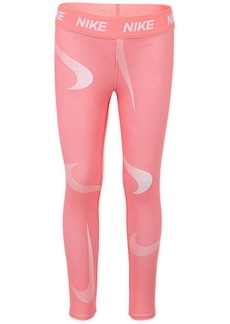 Nike Toddler Girls Swoosh-Print Leggings
