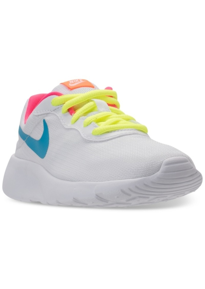 4abd5ee0bf Nike Nike Little Girls' Tanjun Casual Sneakers from Finish Line | Shoes