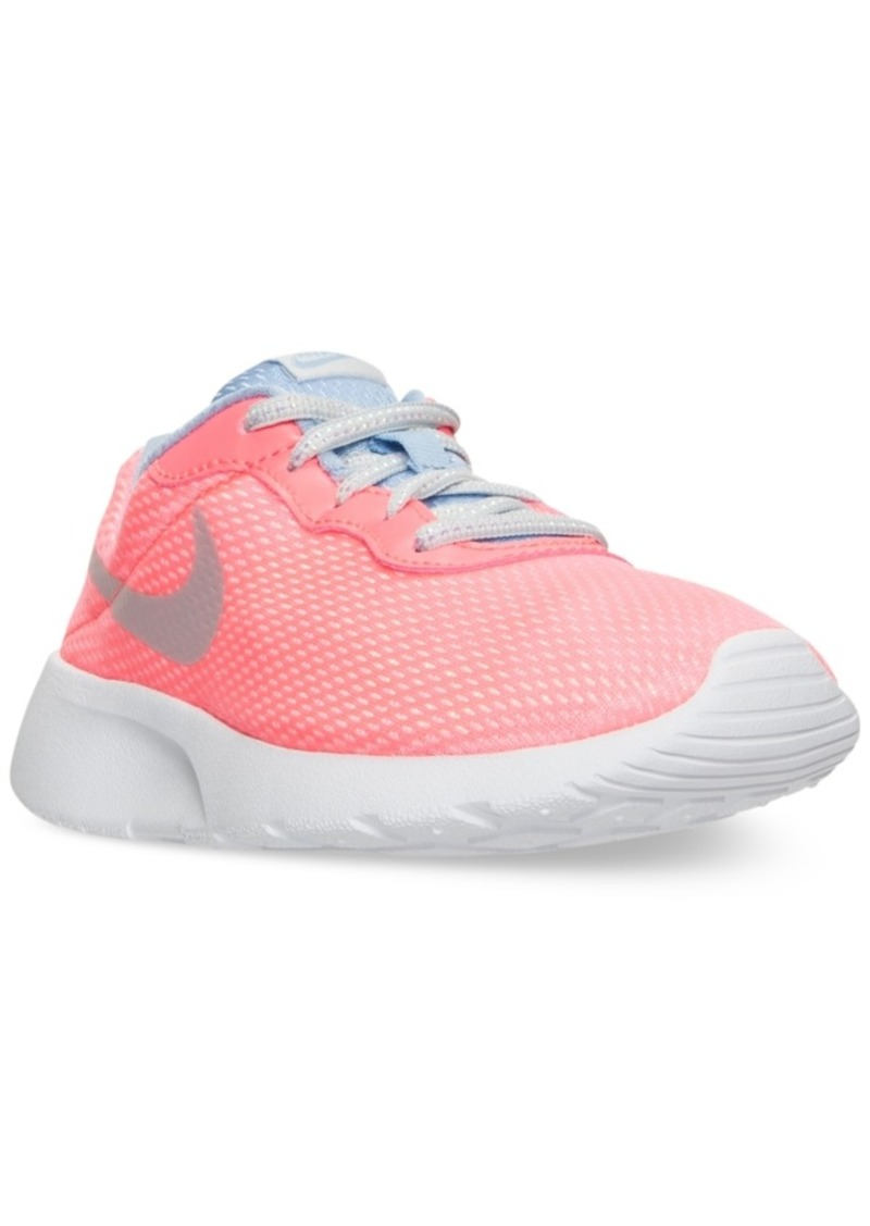 91d6e2a6ed Nike Nike Little Girls' Tanjun Se Casual Sneakers from Finish Line ...