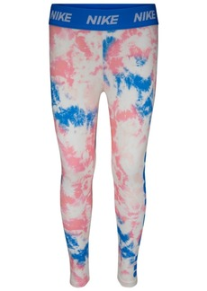 Nike Little Girls Tie-Dyed Dri-fit Leggings
