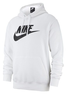 Nike Club Fleece Large Logo Pullover Hoodie