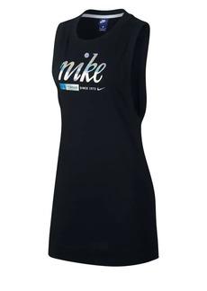 Nike Logo Graphic Cotton Dress