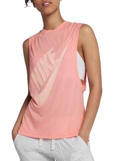 Nike Logo Graphic Tank Top