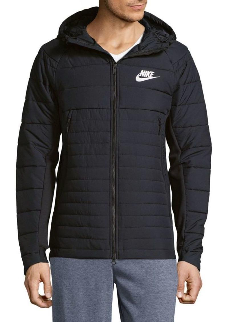 16a63f9b3769 Nike Nike Logo Hooded Puffer Jacket