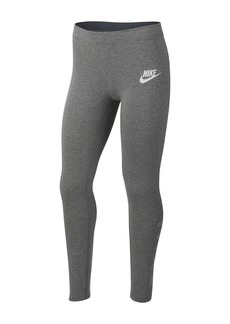 Nike Logo Leggings (Big Girls)
