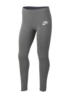 Nike Logo Leggings (Big Girls)