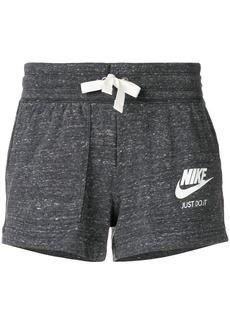 Nike logo print track pants - Grey