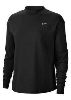 Nike Long-Sleeve Cotton Top