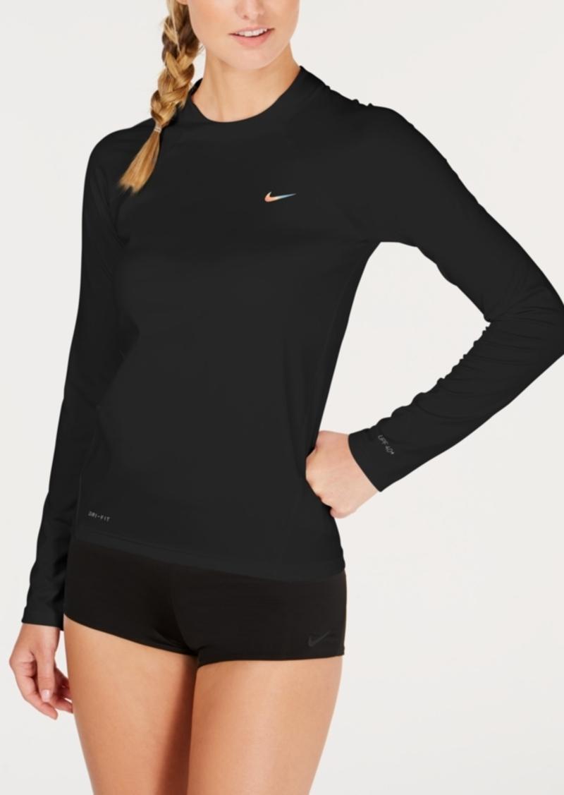 f9b538be08 Nike Nike Long-Sleeve Rash Guard Women's Swimsuit   Swimwear