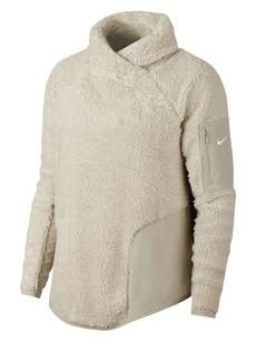 Nike Long-Sleeve Sherpa Fleece Training Top
