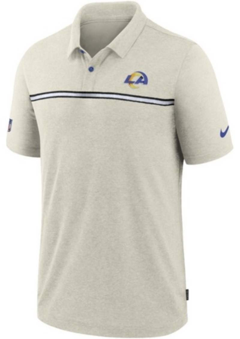 Nike Los Angeles Rams Men's Dri-Fit Short Sleeve Polo