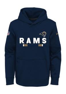 Nike Los Angeles Rams Pullover Therma Hoodie, Big Boys (8-20)