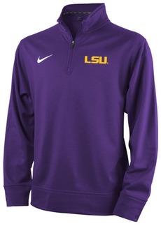 Nike Lsu Tigers Dri-Fit Quarter Zip Pullover Shirt, Big Boys (8-20)