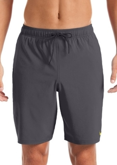 "Nike Men's 6:1 Stripe Breaker Water-Repellent Colorblocked 9"" Board Shorts"