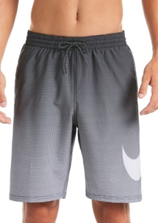"Nike Men's 6:1 Water-Repellent Ombre 9"" Swim Trunks"