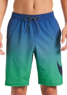 "Nike Men's 6:1 Stripe Breaker Water-Repellent Ombre 9"" Board Shorts"
